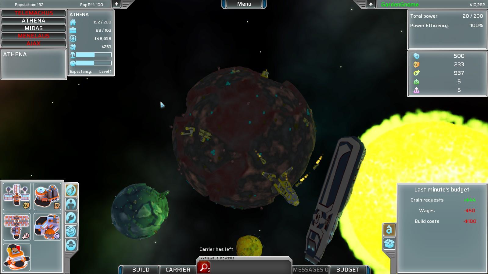 Zero Sum Future screenshot