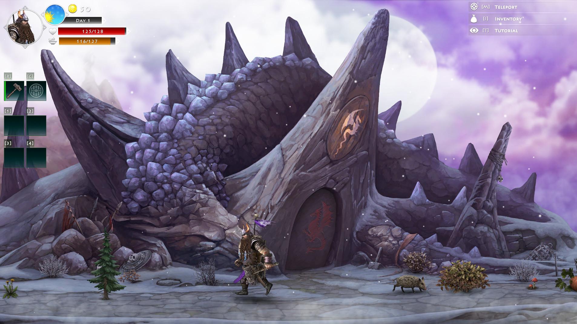Niffelheim Odin`s Blessing DLC screenshot