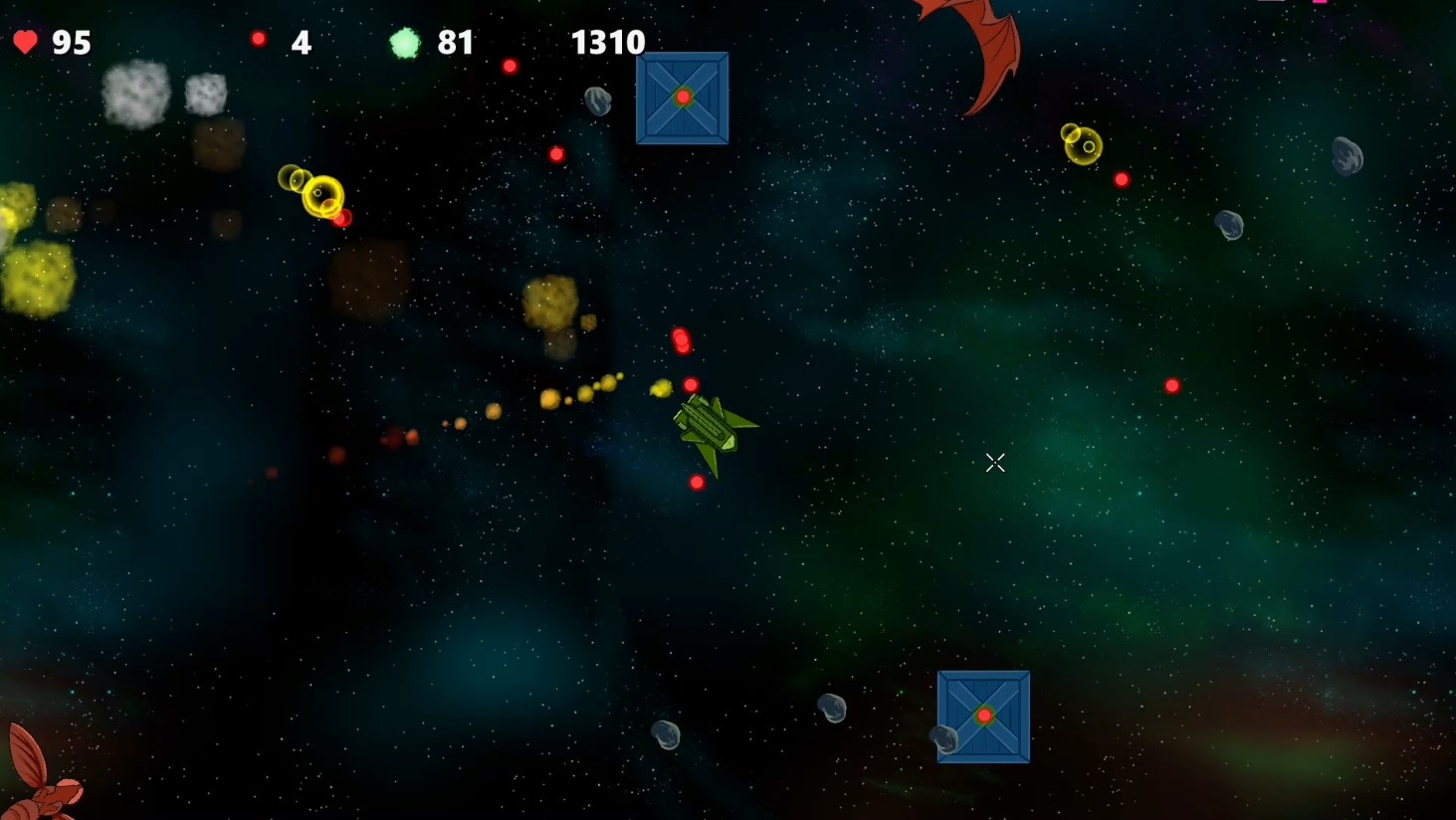 Space Ranger vs. Reptiloids screenshot