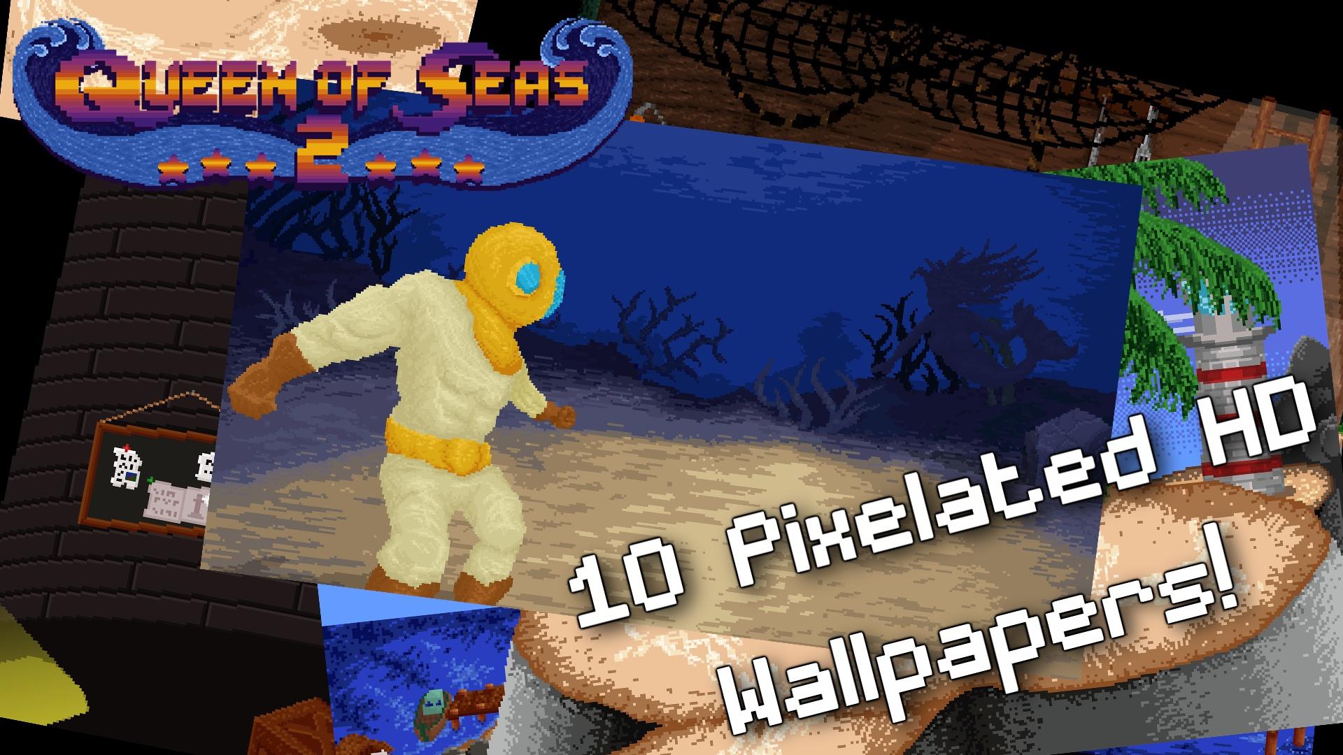 Queen of Seas 2 - Wallpapers screenshot