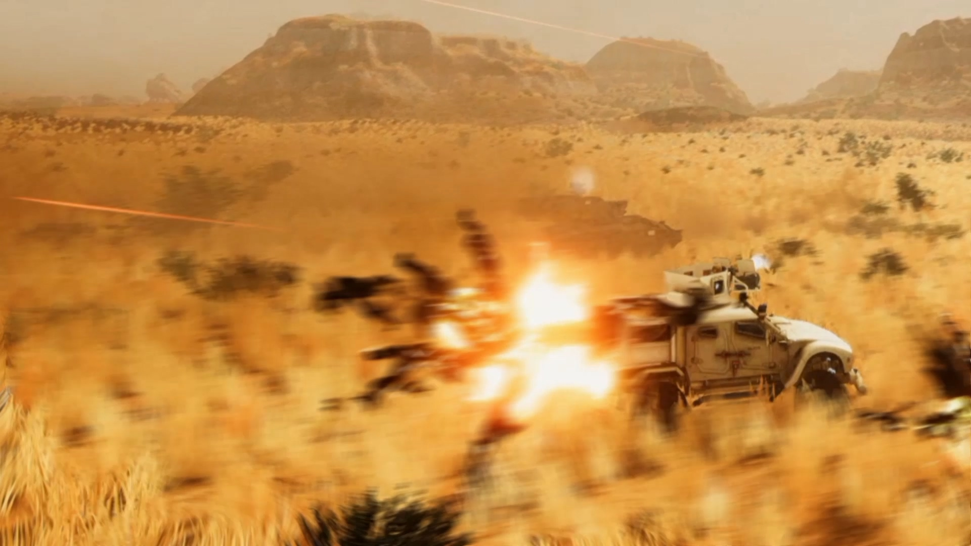 Hunting fields of Jackals screenshot