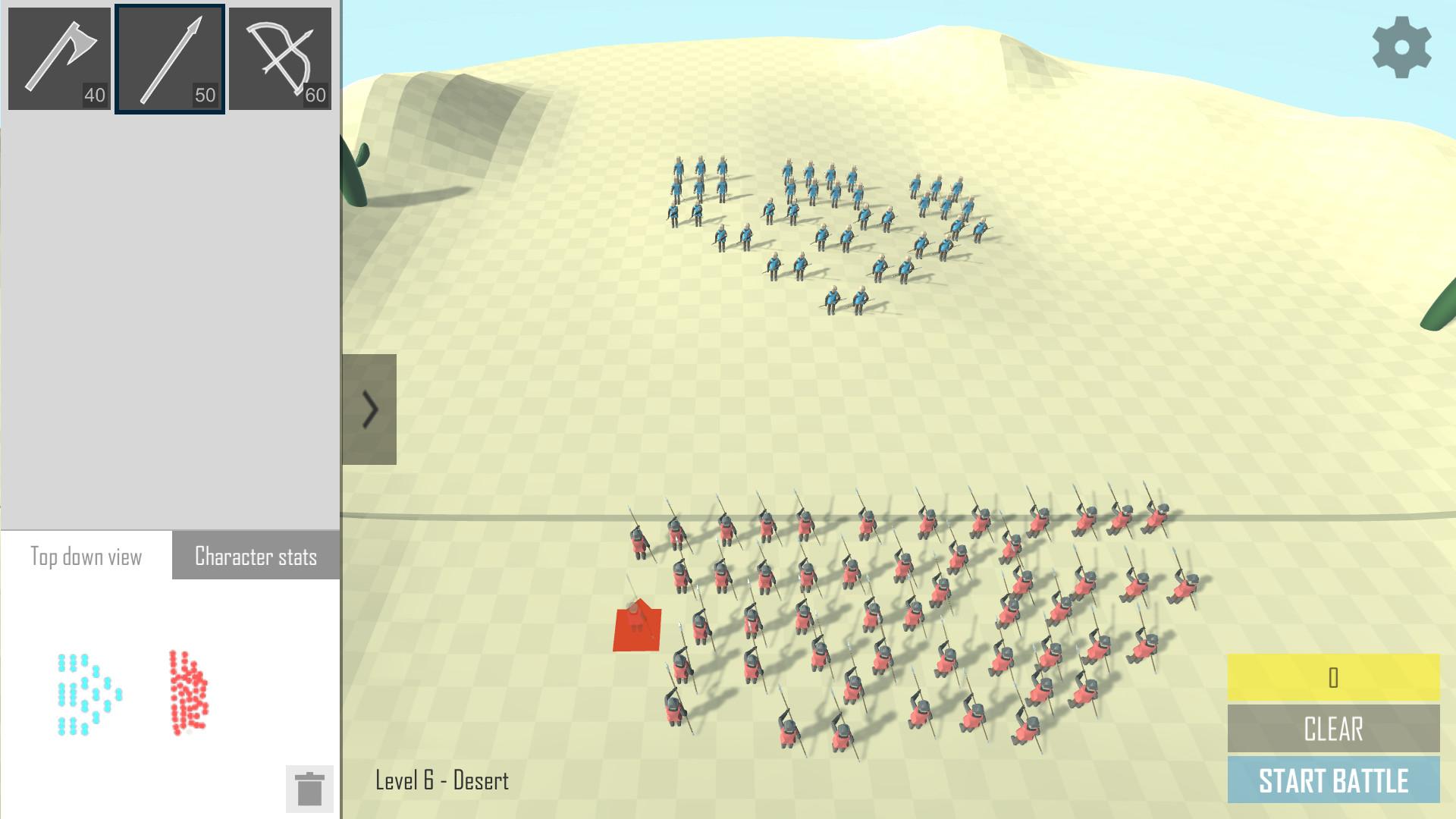 Battle Simulator screenshot