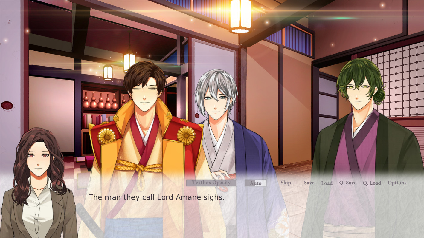 Wishes In Pen: Chrysanthemums in August - Otome Visual Novel screenshot