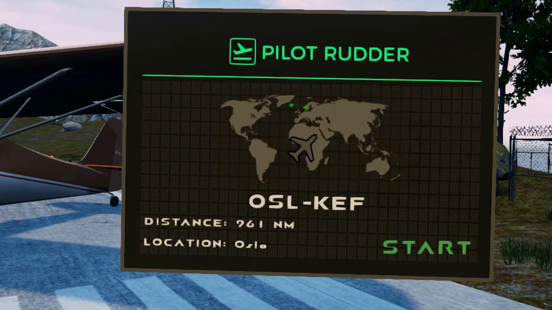 Pilot Rudder VR screenshot