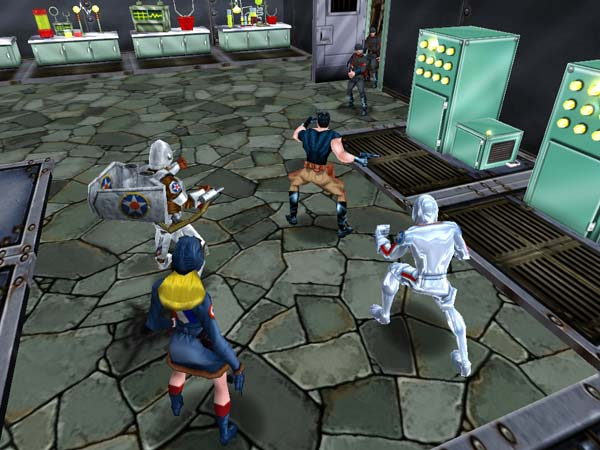Freedom Force vs. the Third Reich screenshot