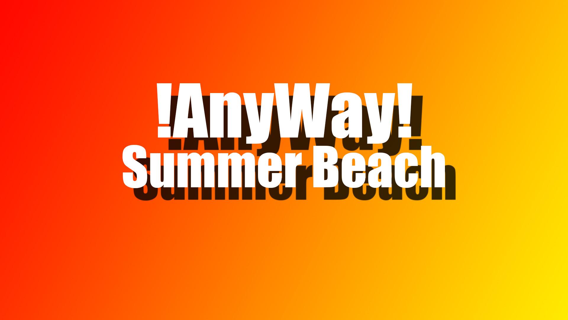AnyWay! - Summer beach screenshot