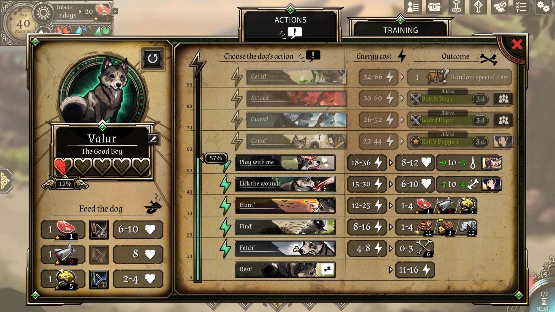Dead In Vinland - The Vallhund screenshot