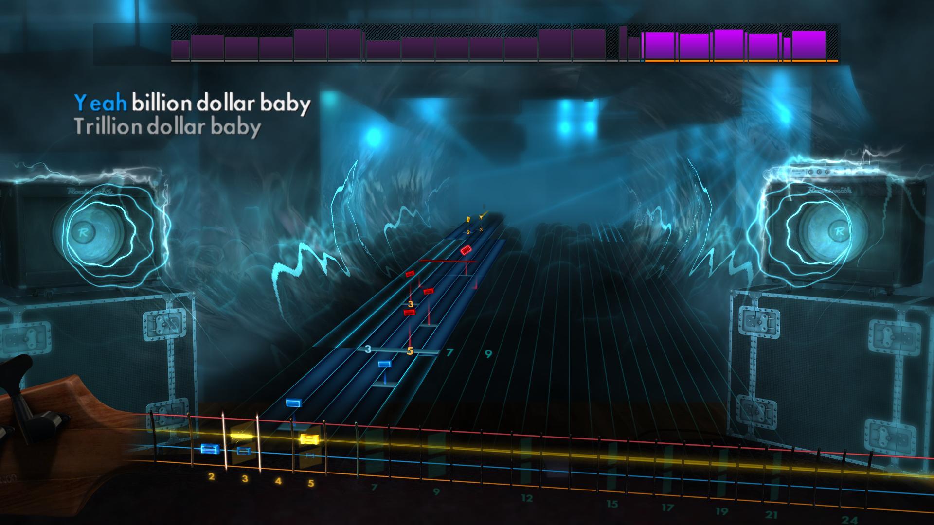 "Rocksmith 2014 Edition – Remastered – Alice Cooper - ""Billion Dollar Babies"" screenshot"