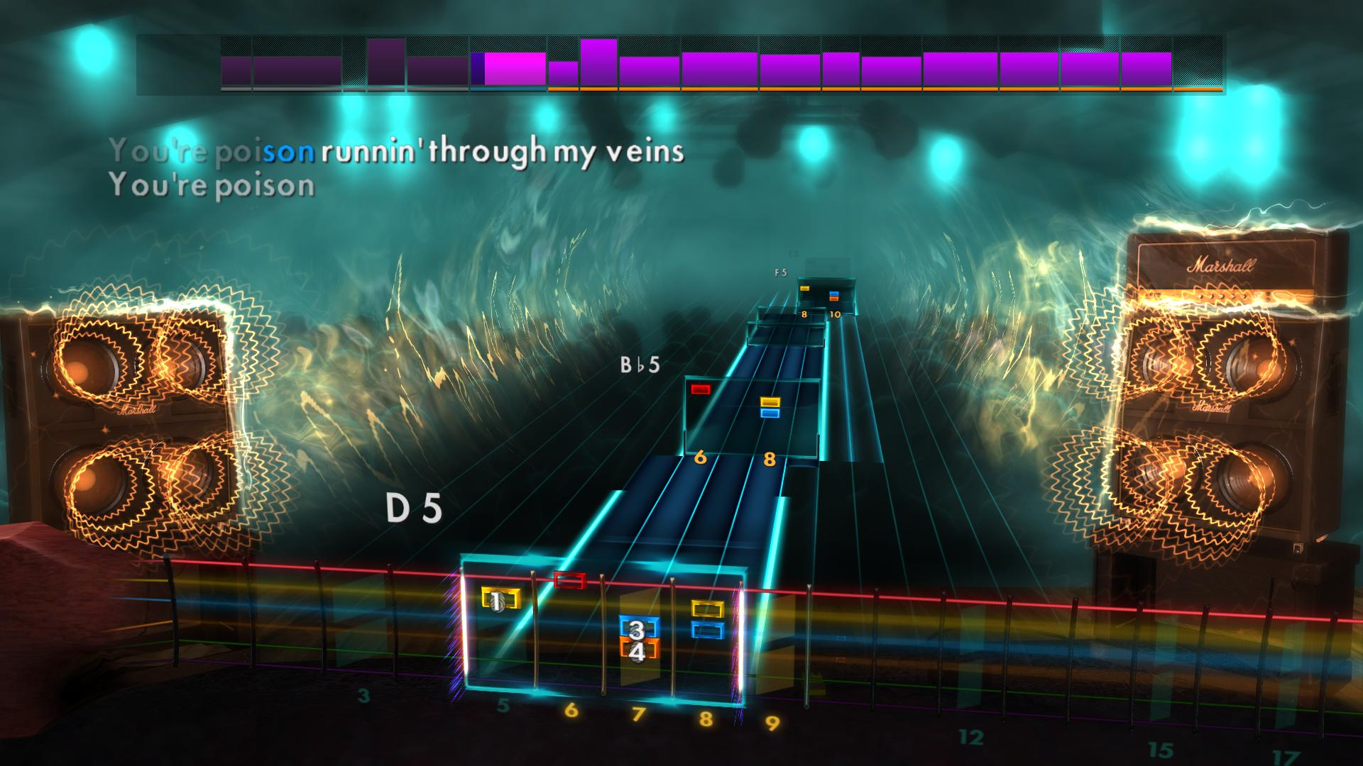 "Rocksmith 2014 Edition – Remastered – Alice Cooper - ""Poison"" screenshot"