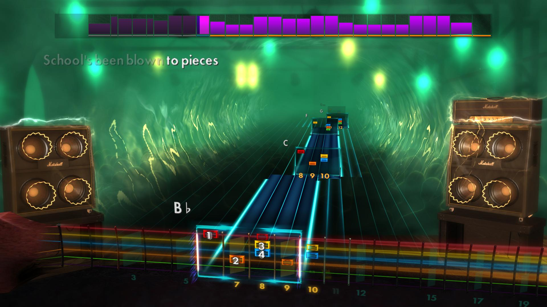 "Rocksmith 2014 Edition – Remastered – Alice Cooper - ""School's Out"" screenshot"