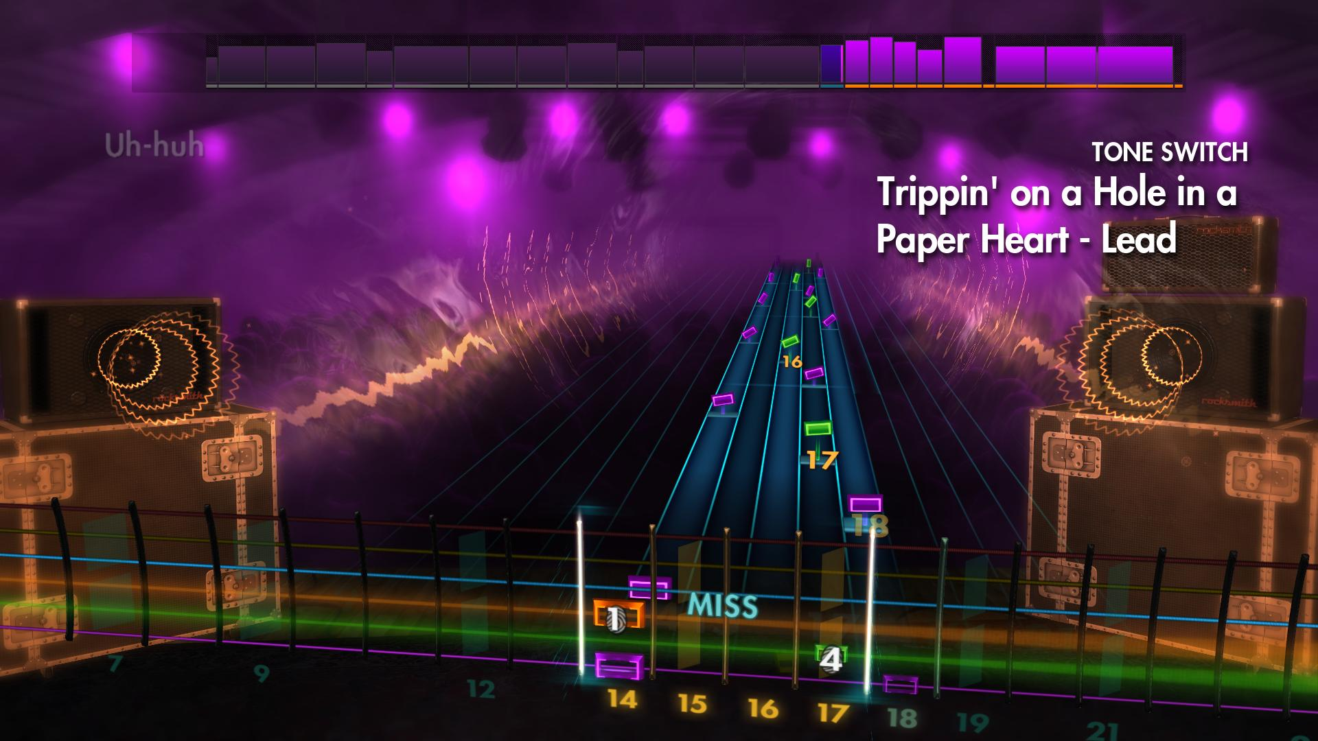 "Rocksmith 2014 Edition – Remastered – Stone Temple Pilots - ""Trippin' on a Hole in a Paper Heart"" screenshot"