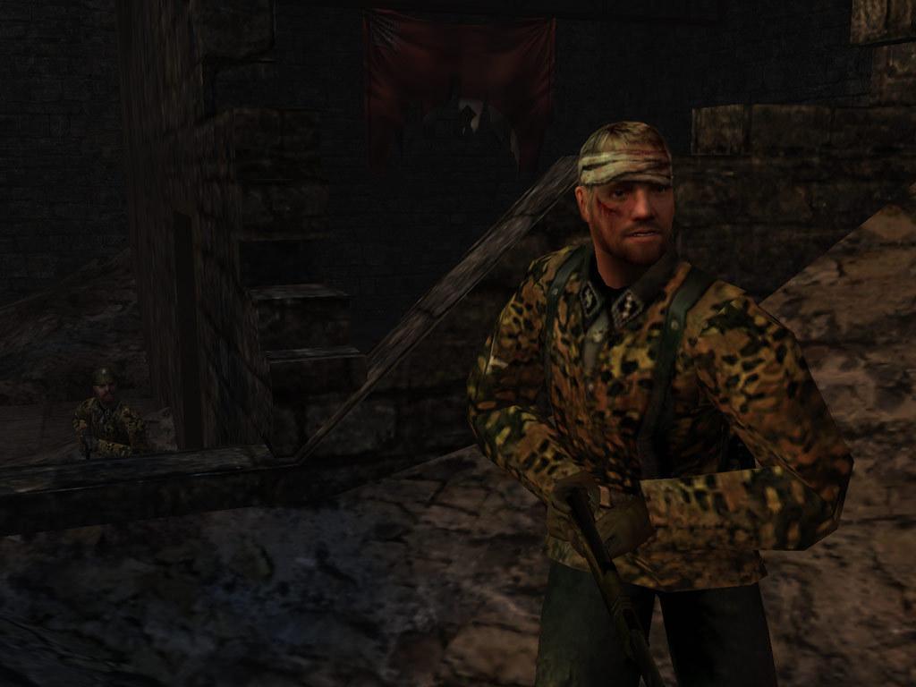 Download return to castle wolfenstein full pc game for Castle wolfenstein