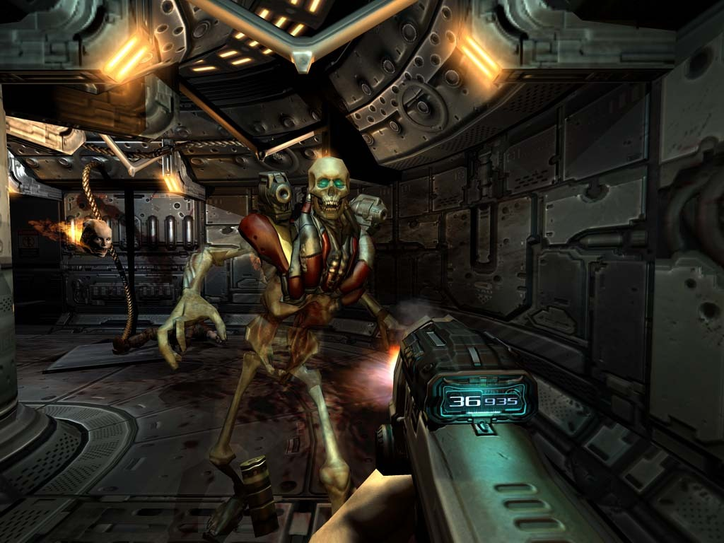 Doom 3 | Doom 3 Resurrection of Evil [2004-2005|Rus]
