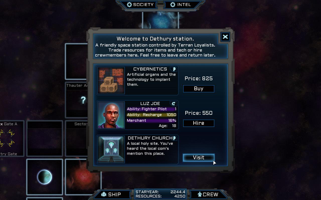 Voidship: The Long Journey screenshot