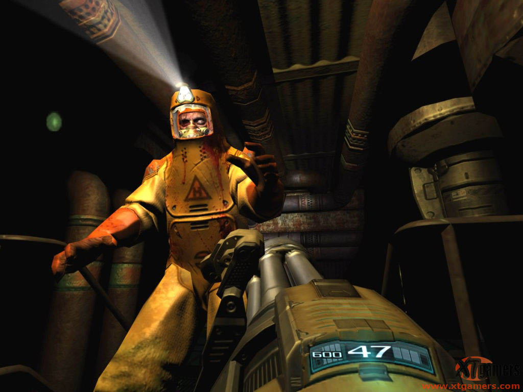 DOOM 3 Resurrection of Evil screenshot