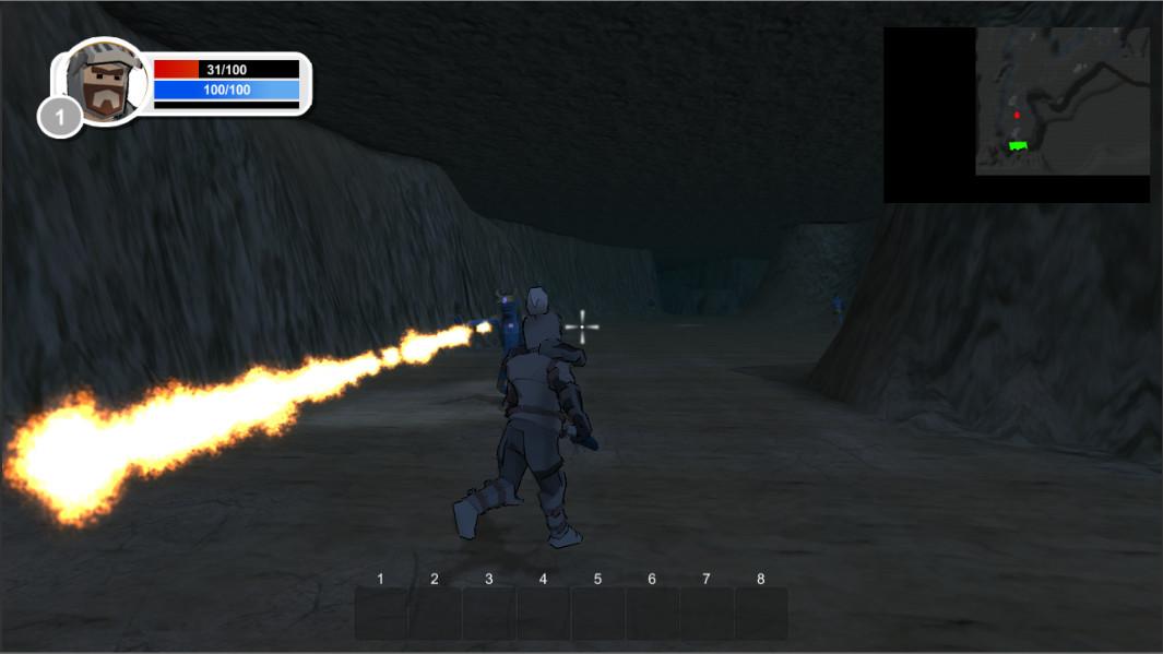 Dangerous Lands - Magic and RPG screenshot