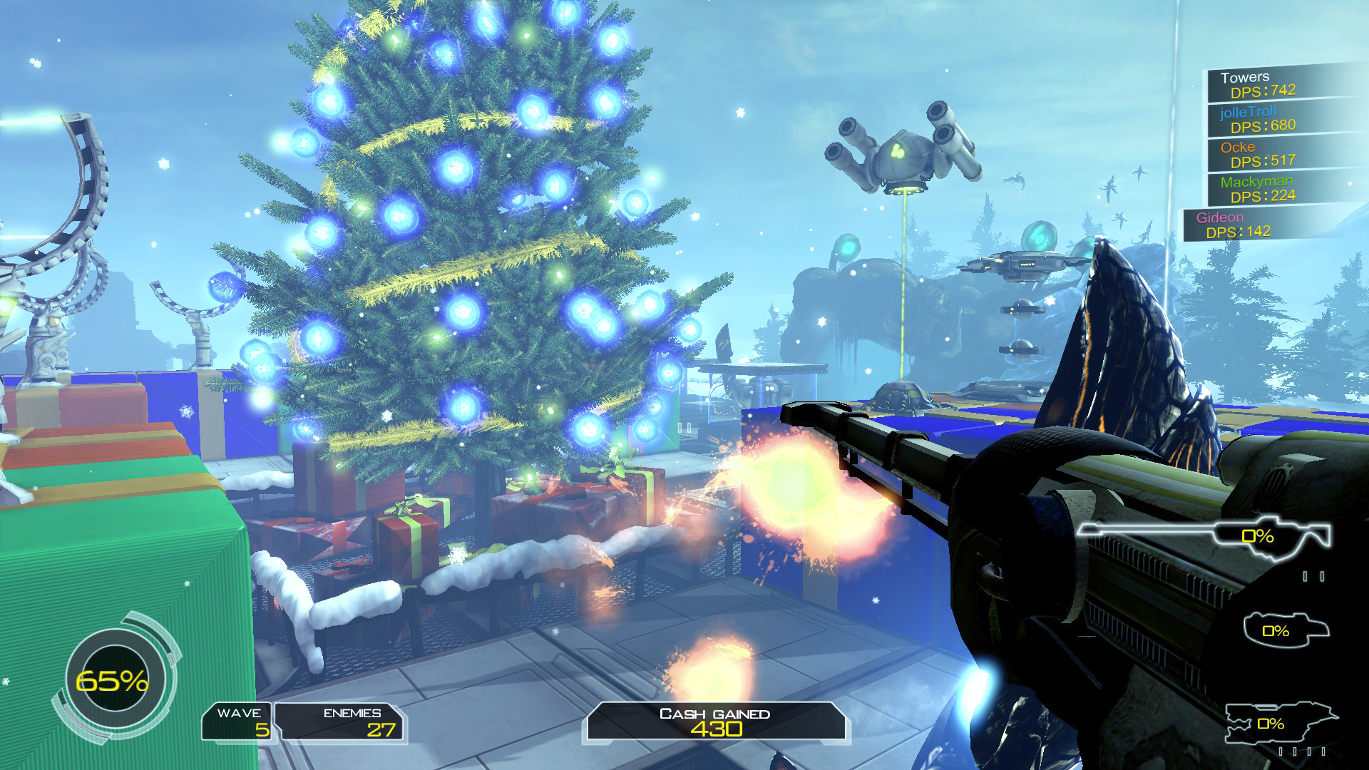 Sanctum: X-Mas Carnage (Free DLC) screenshot