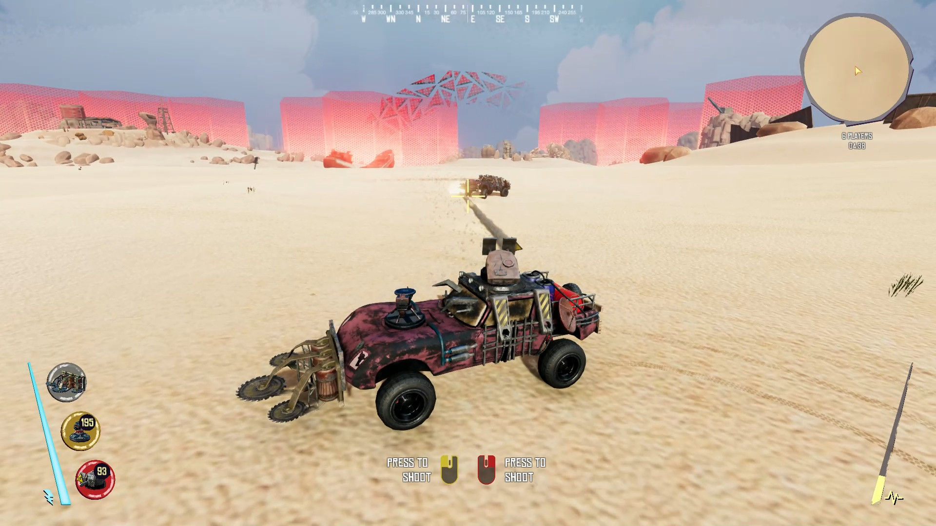 Burndown screenshot