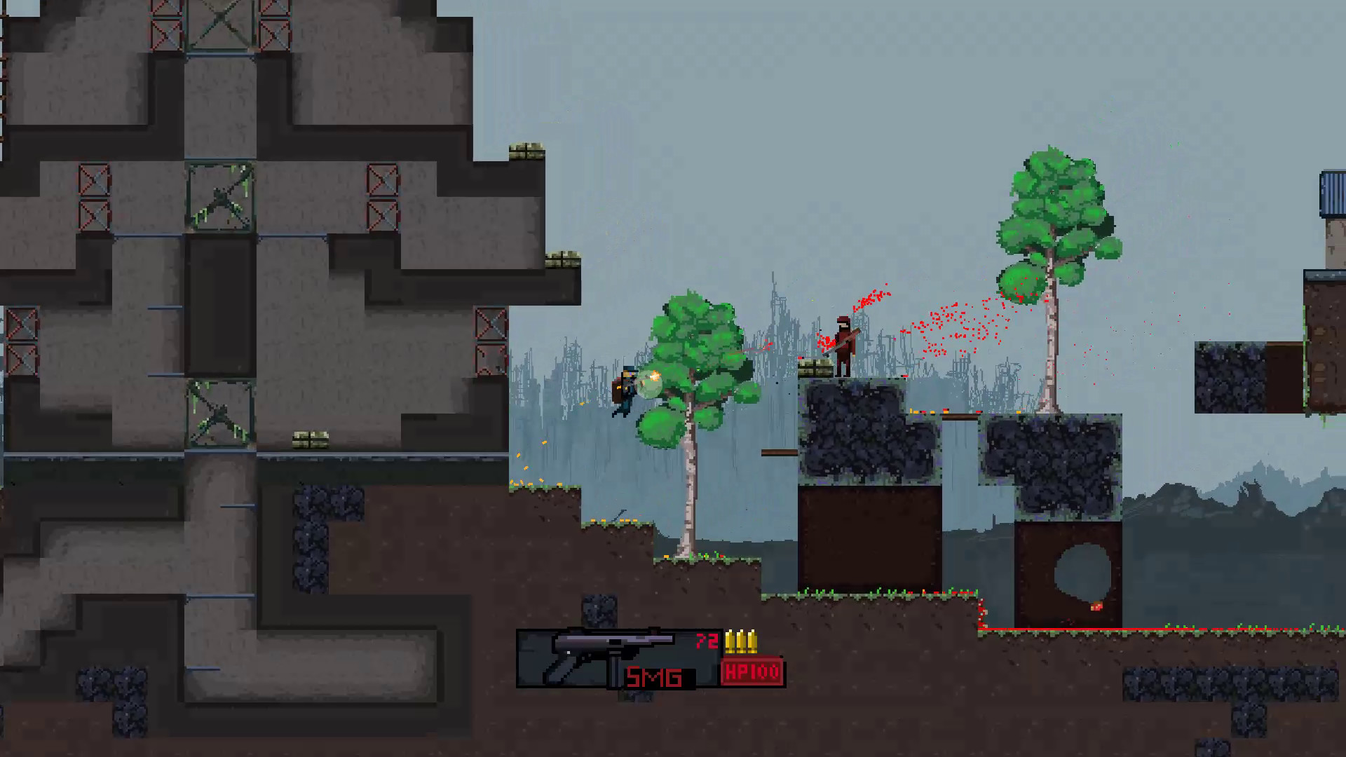 Scatteria - Post-apocalyptic shooter screenshot
