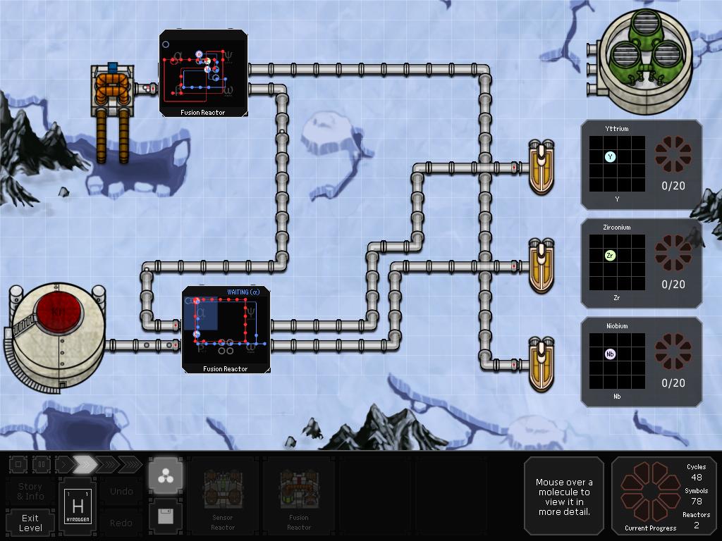 SpaceChem screenshot