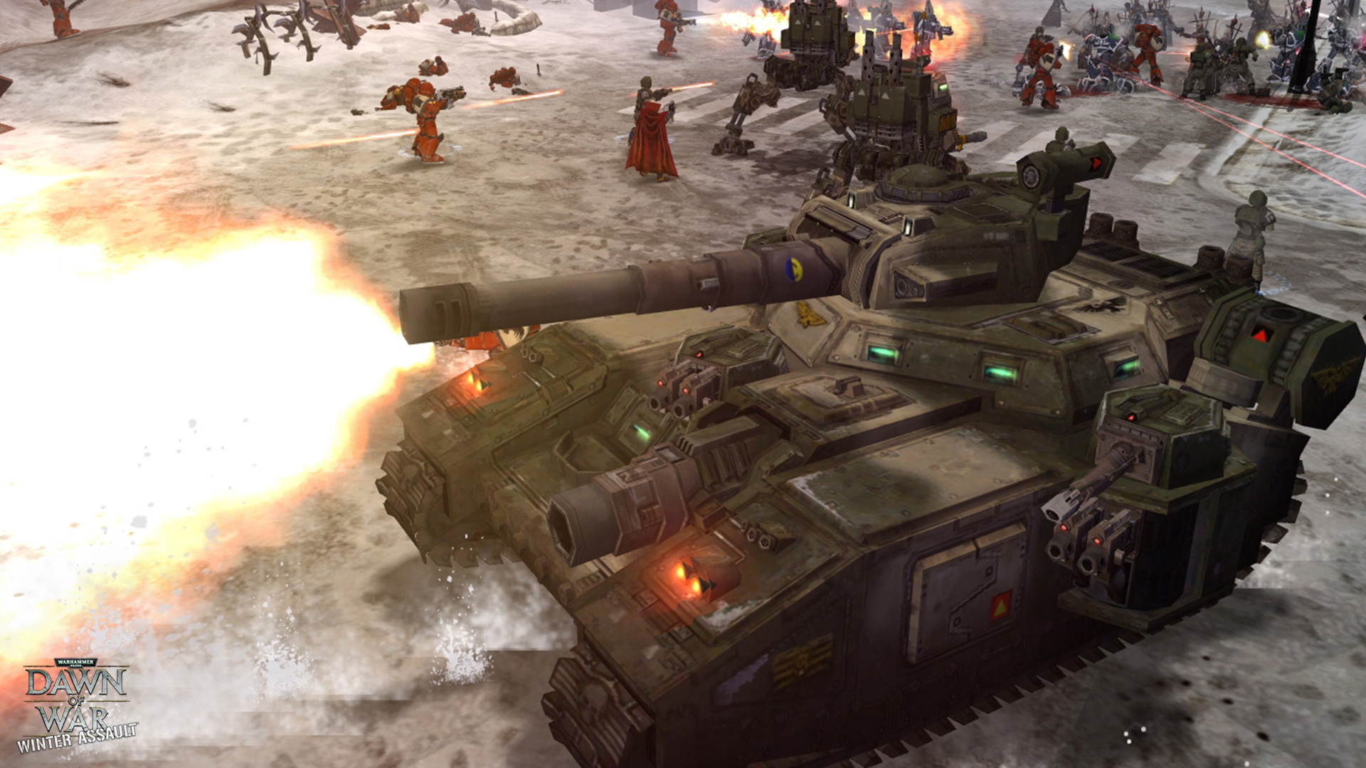 Warhammer 40,000: Dawn of War – Winter Assault screenshot