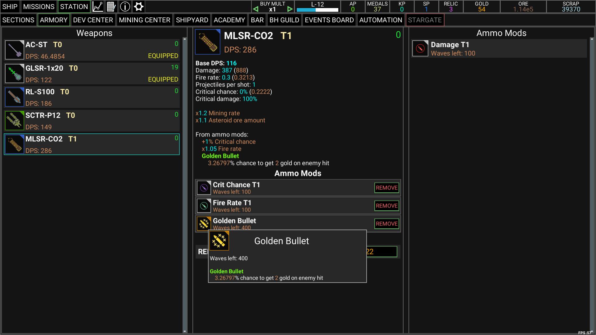 Idle Space Raider screenshot