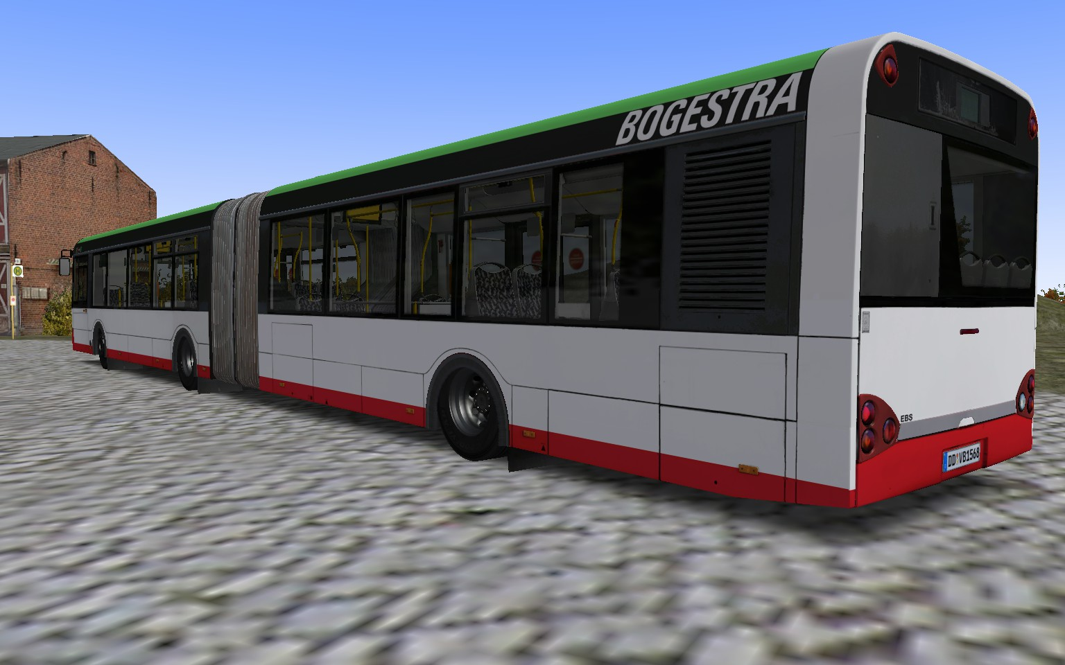 OMSI 2 Add-On Urbino Stadtbusfamilie screenshot
