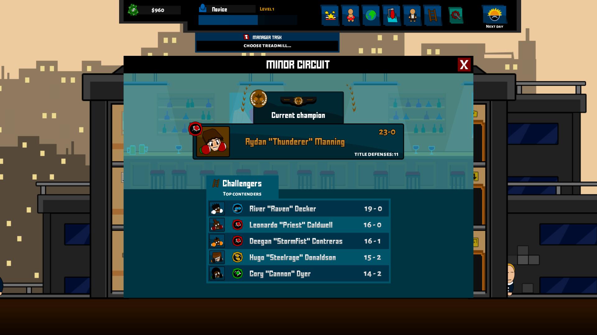 Boxing School screenshot