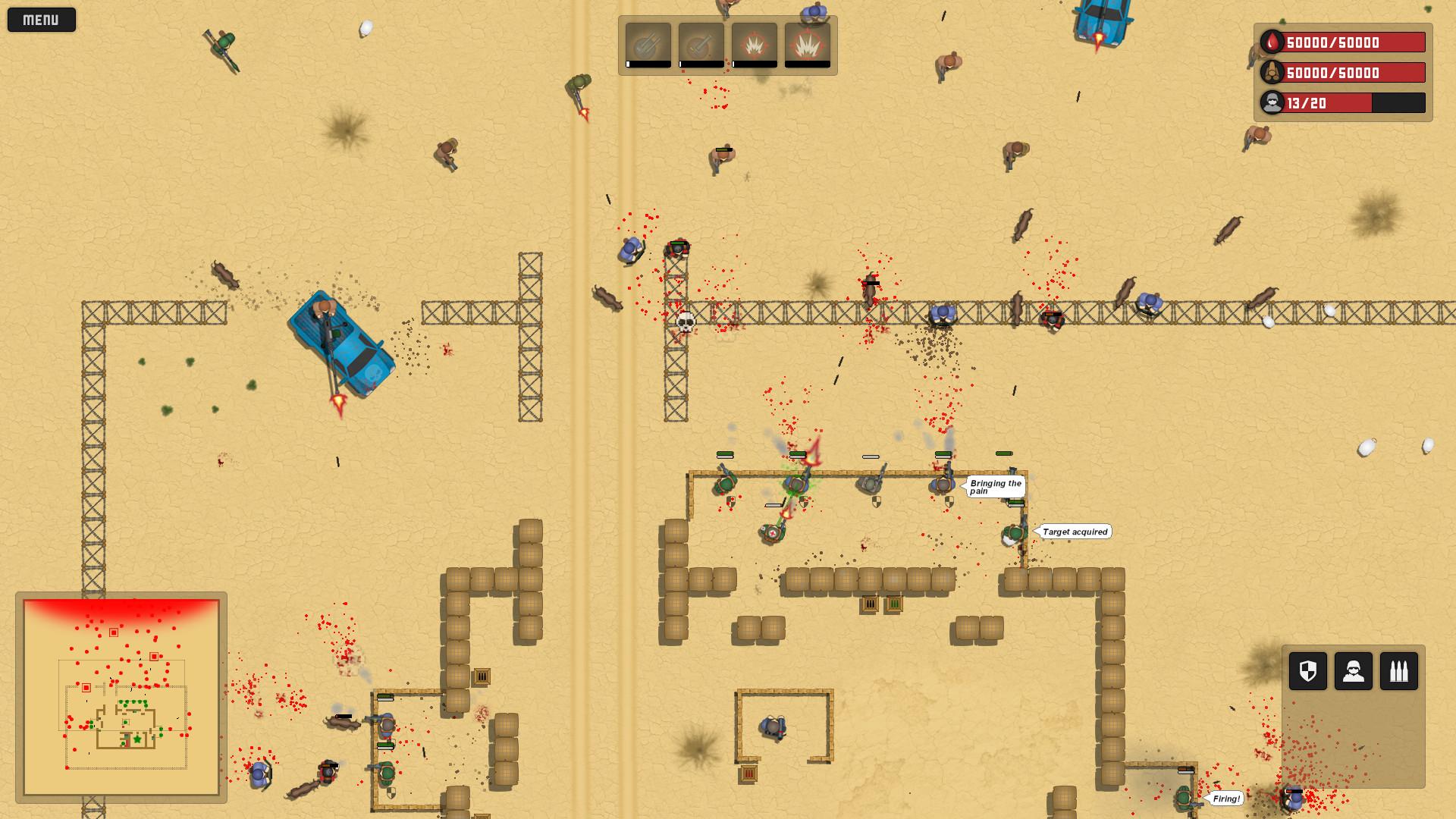 Firebase Defence screenshot