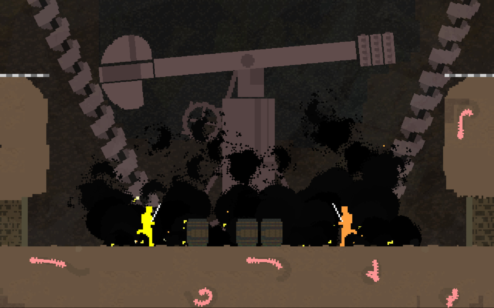 Nidhogg screenshot