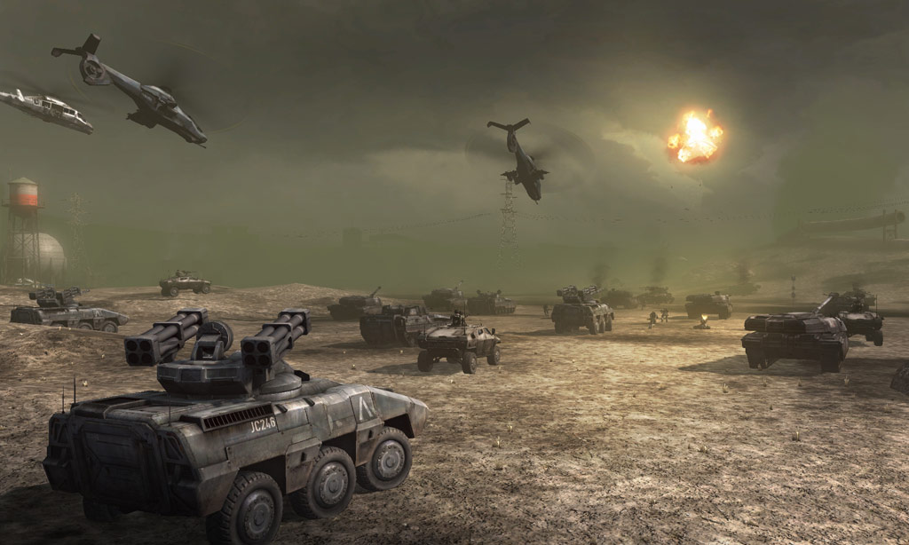 Frontlines: Fuel of War screenshot