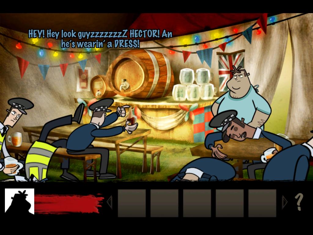 Hector: Badge of Carnage - Full Series screenshot