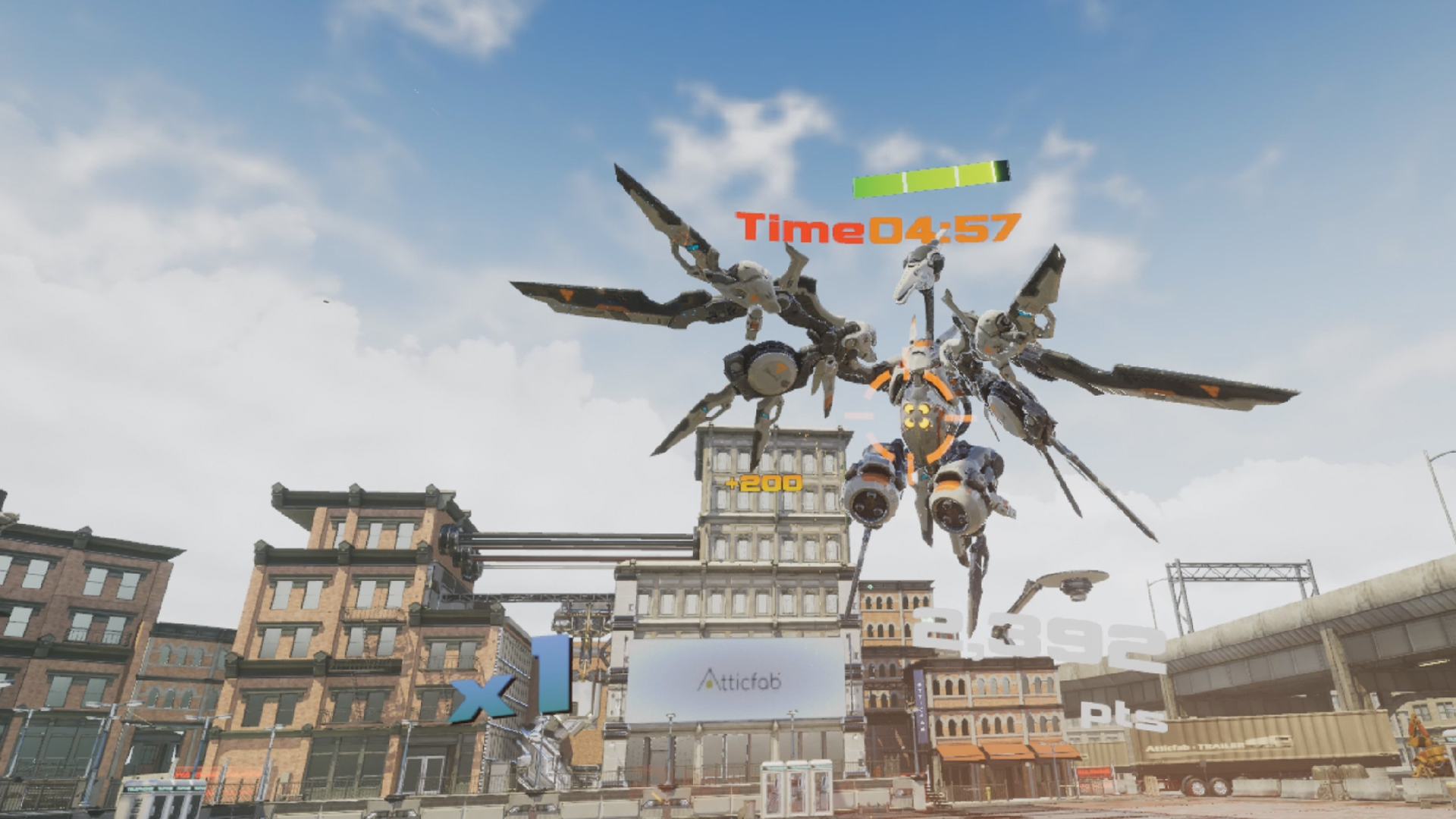 ZERONE Episode 1 Gunner screenshot