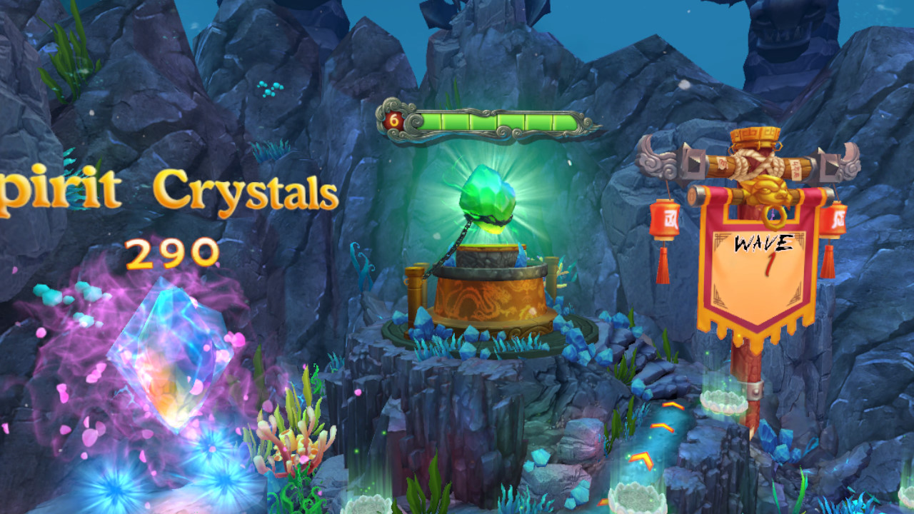 Palace of the Azure Dragon screenshot