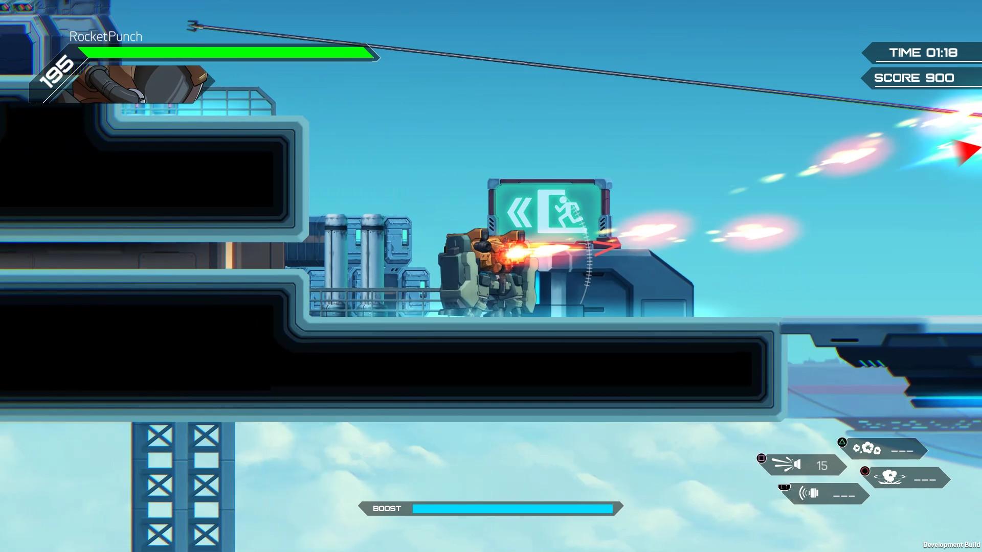 HARDCORE MECHA - Round Hammer Particle Cannon screenshot