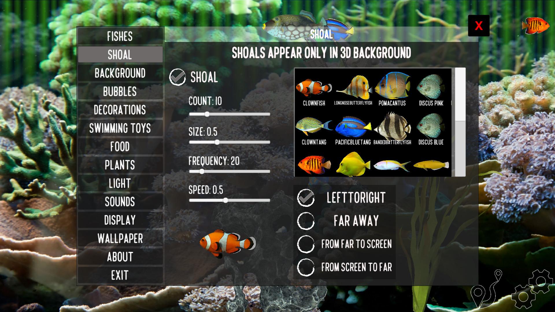 Aquarium Sandbox screenshot