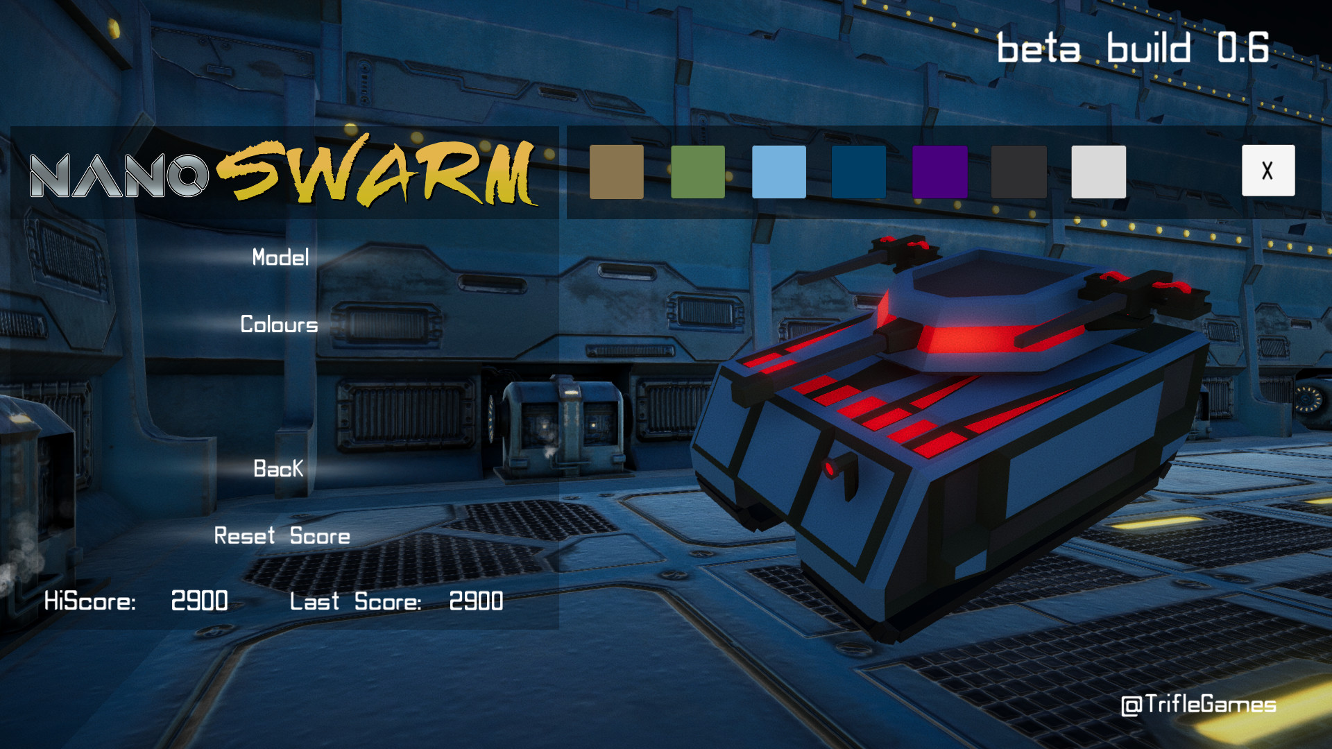 Nanoswarm screenshot