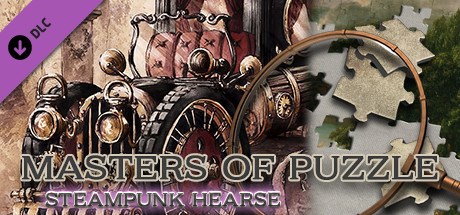Masters of Puzzle - Steampunk Hearse