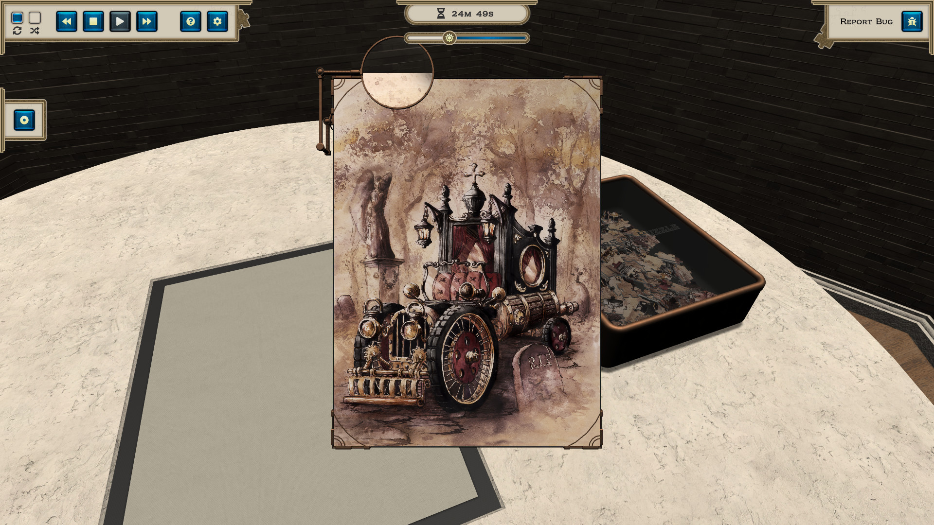 Masters of Puzzle - Steampunk Hearse screenshot