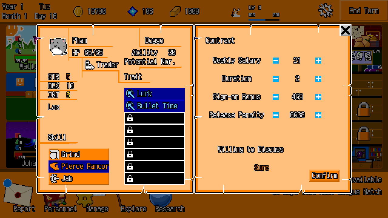 Abyss Manager screenshot