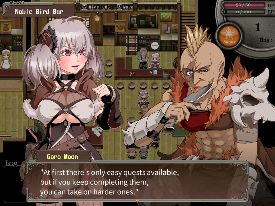 Niplheim's Hunter - Branded Azel screenshot