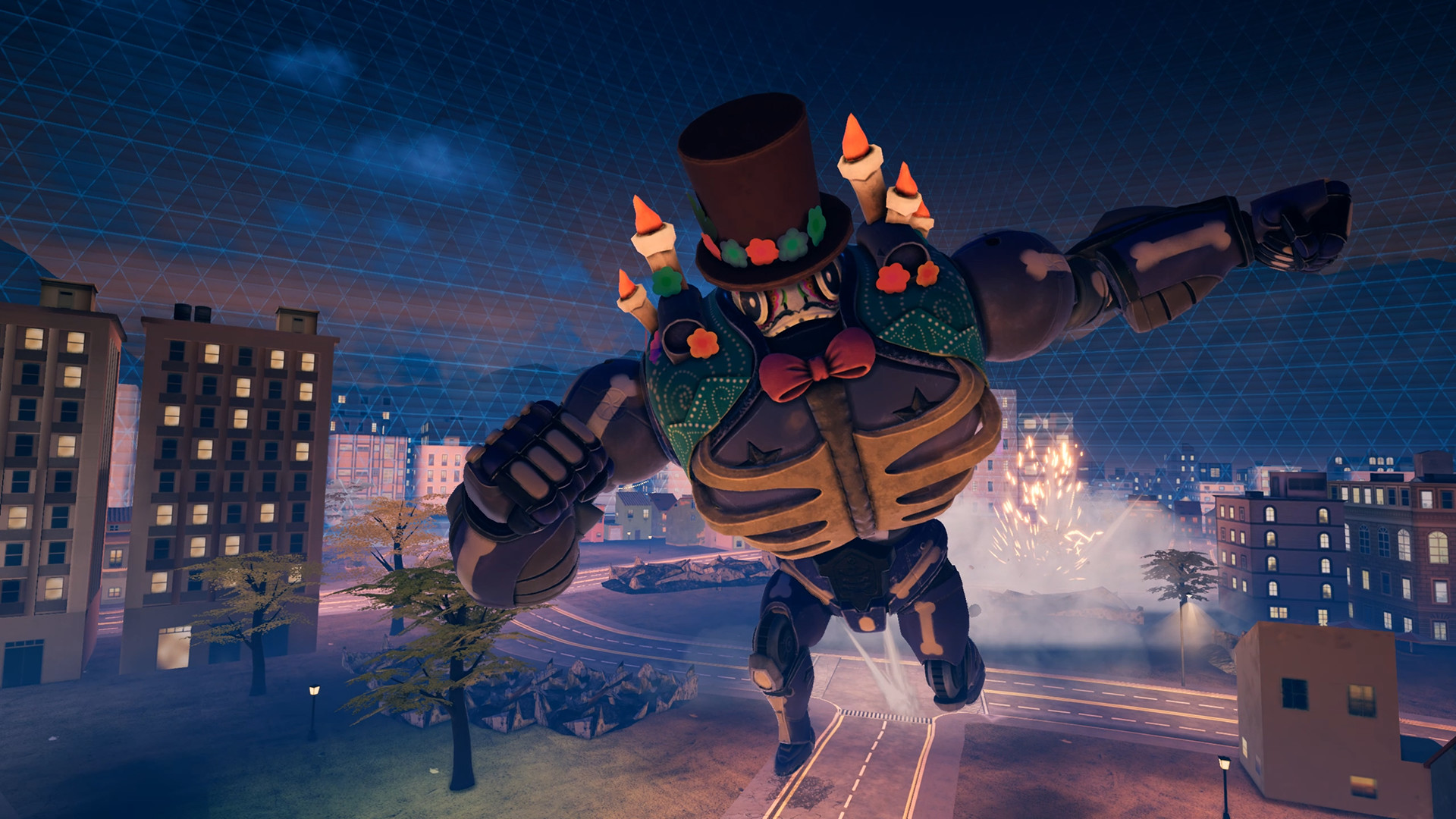 Override: Mech City Brawl - Super Charged Skin Pack DLC screenshot