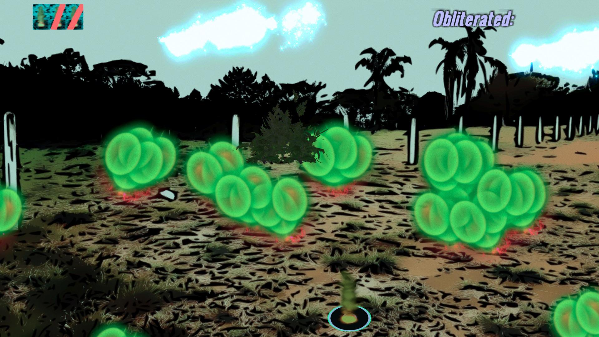 Spray Dynamite X Radioactive Insects screenshot