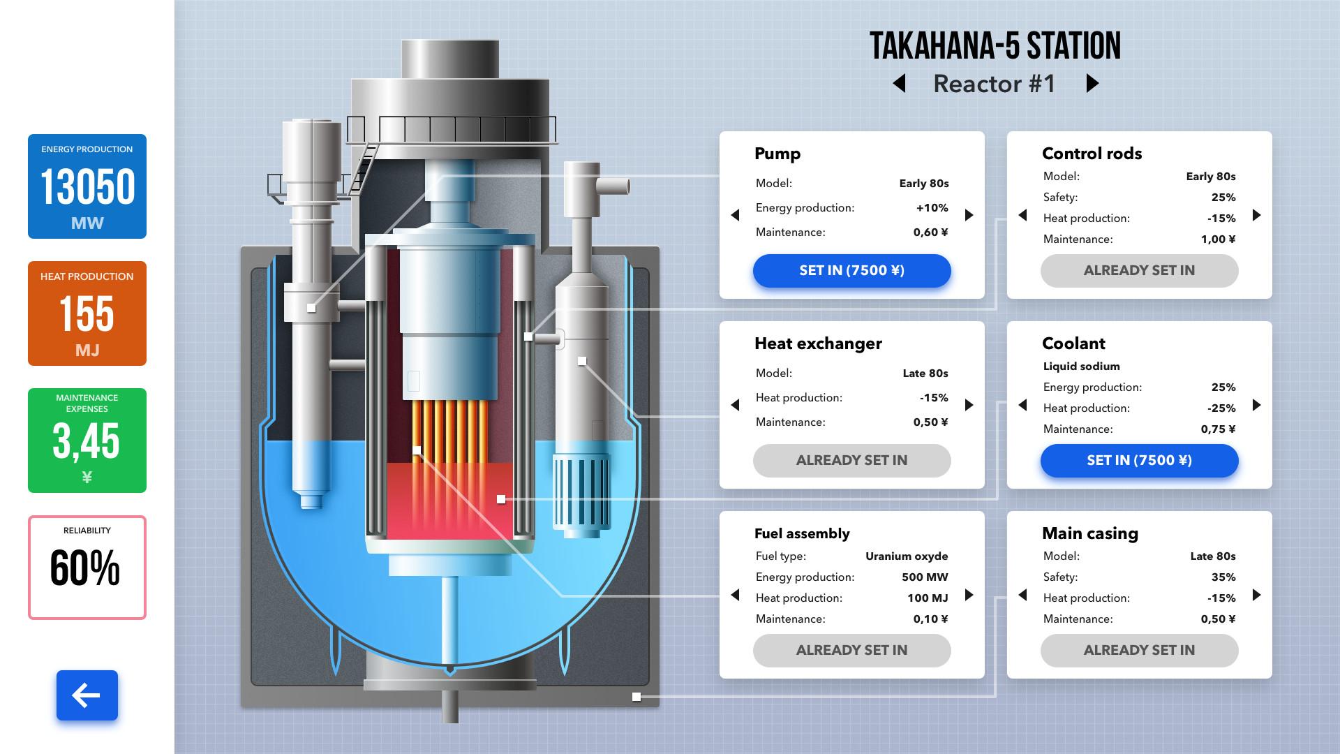 Nuclear Power Station Creator screenshot