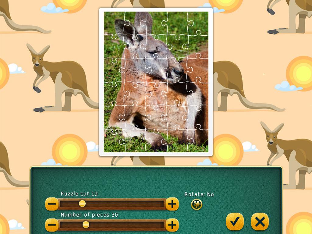 1001 Jigsaw. World Tour: Australian Puzzles screenshot
