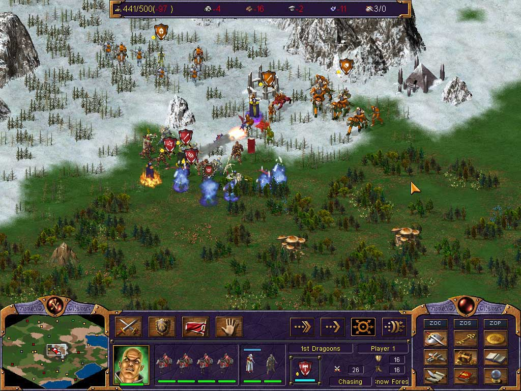 Kohan: Ahriman's Gift screenshot