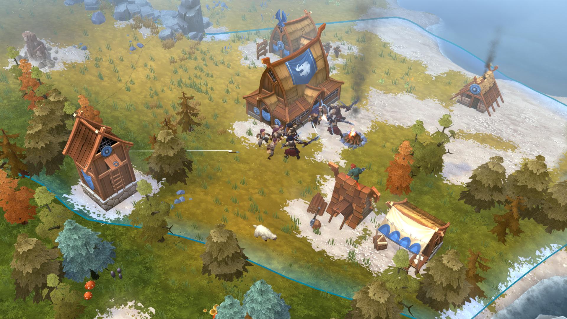 Northgard - Nidhogg, Clan of the Dragon screenshot