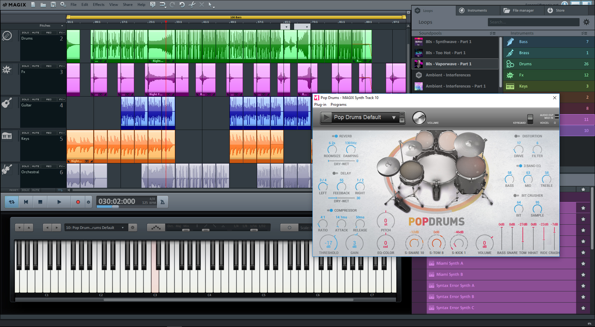 Music Maker 2019 Premium Steam Edition screenshot