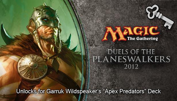 """Magic 2012 Full Deck """"Apex Predators"""" screenshot"""