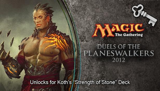 "Magic 2012 Full Deck ""Strength of Stone""  screenshot"